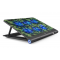 Laptop Cooler, Aicheson Ultra Slim Laptop Cooling Pad Chill Mat with 6 Quiet Fans USB Powered Adjustable Mounts Stand with LED Lights