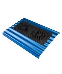 Metal notebook cooler